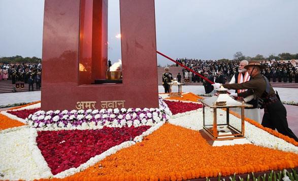 National war memorial Delhi